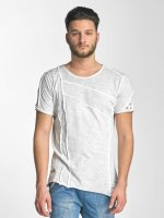 Red Bridge T-Shirt Patchwork grau