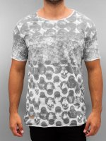 Red Bridge T-shirt Polka Dots grigio