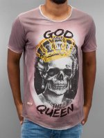 Red Bridge T-shirt God Save The Queen rosso