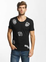 Red Bridge T-Shirt Noble Skull schwarz