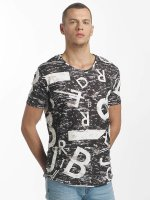 Red Bridge T-Shirt Letters and Numbers schwarz