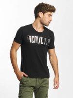 Red Bridge t-shirt MCMXCIII Modern Characters zwart