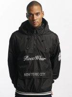 Rocawear Giacca Mezza Stagione Windbreaker nero