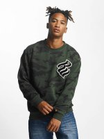 Rocawear Jumper Retro Army Crew Neck olive