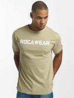 Rocawear T-paidat Color Block khakiruskea