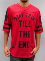 Rocawear T-shirt long oversize Football rouge