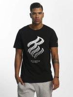 Rocawear T-Shirt Triangle noir
