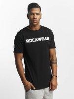 Rocawear T-Shirt Color Block noir