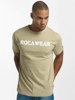 Rocawear T-Shirty Color Block khaki