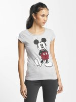 Rock Angel T-Shirt Mickey Mouse gris