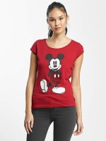 Rock Angel T-Shirt Mickey Mouse rot