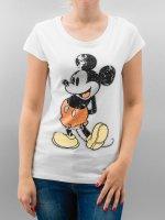 Rock Angel t-shirt Mickey wit