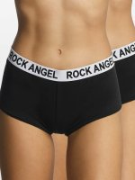 Rock Angel Underwear Double Pack Logo black