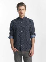 SHINE Original Kauluspaidat Fletcher Broken Star Printed Shirt sininen