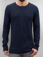 SHINE Original Pullover o Neck blau