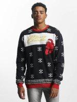 SHINE Original Pullover Miguel Christmas blau