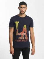 SHINE Original T-Shirt Denim City Print bleu