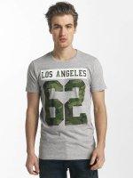SHINE Original T-Shirt Buster Varsity Print grau