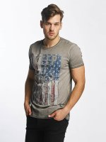 SHINE Original T-Shirt Oil Washed Printed gris