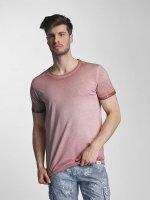 SHINE Original T-Shirt Dirt Dye Wash rosa