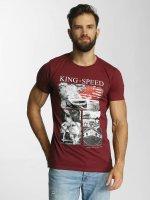 SHINE Original T-Shirt Salvatore Photo Printed rouge