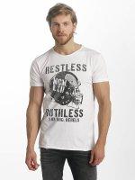 SHINE Original T-Shirt Bradley Ruthless & Reckless weiß