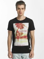SHINE Original t-shirt Lupe Palm Print zwart