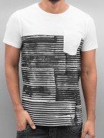 SHINE Original T-Shirty Stripes bialy