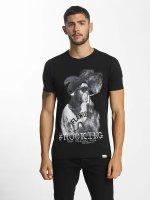 SHINE Original T-Shirty Animal Print czarny