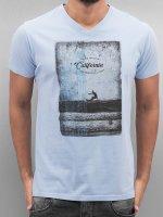 SHINE Original T-Shirty California niebieski