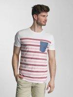 SHINE Original T-Shirty Striped rózowy