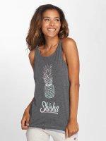 Shisha  Débardeur Palme gris