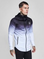 Sik Silk Lightweight Jacket Athlete Through white