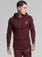 Sik Silk Sweat capuche Zonal Overhead Track rouge