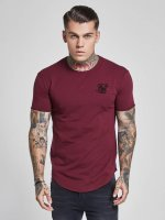 Sik Silk T-Shirt Gym rouge
