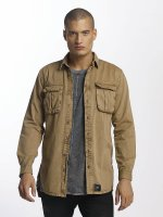 Sixth June Camicia Cargo Pocket beige