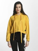 Sixth June Felpa con cappuccio Cropped Sweat giallo