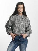 Sixth June Felpa con cappuccio Knit Soft grigio