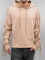 Sixth June Hoodie Hoody With Laces beige