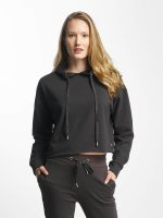 Sixth June Hoodie Classic Oversize Cropped black