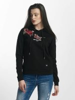 Sixth June Hoodie Rose Stich svart