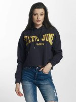 Sixth June Hoodies Classic Oversize Cropped modrý