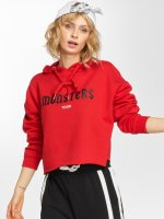Sixth June Hoody Oversize Cropped rood