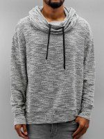 Sixth June Pullover Oversize Sweat With Big Collar grau
