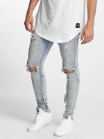 Sixth June Skinny Jeans Destroyed Washed blau