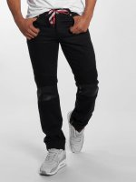 Sixth June Skinny jeans Branko zwart