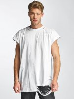 Sixth June T-Shirt Destroyed Muscle blanc
