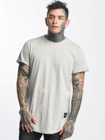 Sixth June T-shirt long oversize Rounded Bottom gris