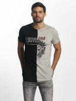 Sixth June T-shirt Assymetric nero
