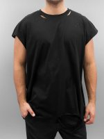 Sixth June T-Shirt Destroyed Muscle noir